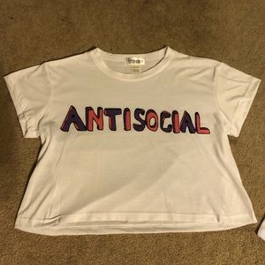 Antisocial Freshtops Crop Top